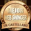 Medalla mejor web swinger